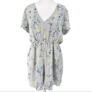 NWT LUCCA couture floral romper